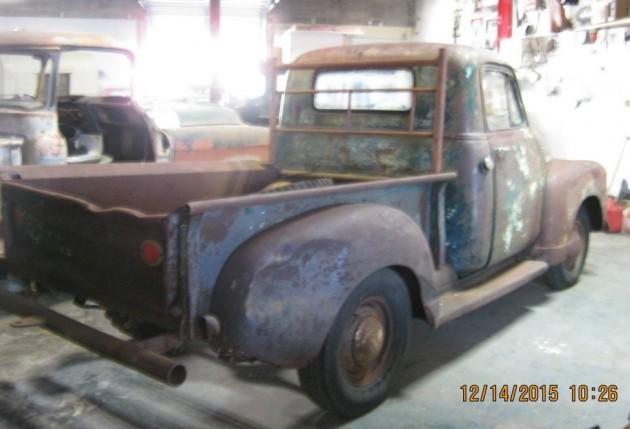 '53 3100 rear
