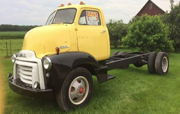 Low Cab Forward 1953 Gmc Truck