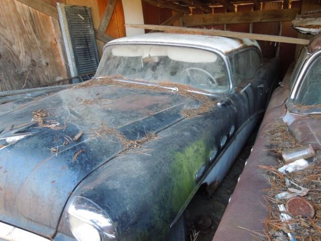 '56 Buick left side