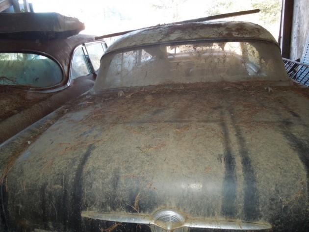 '56 Buick. rear