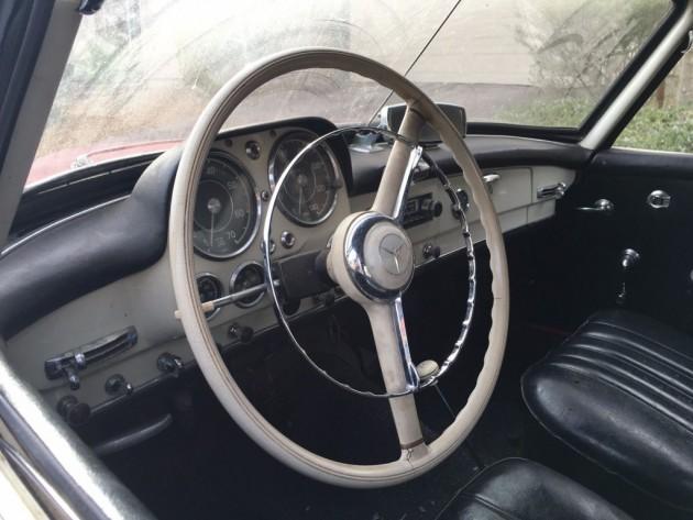 '59 190SL full dash