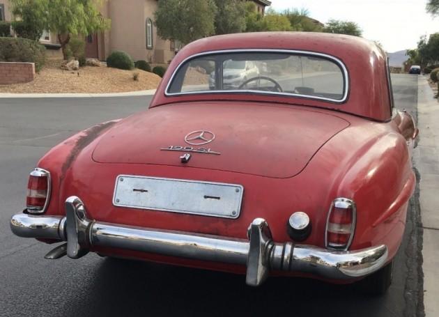 '59 190SL rear right