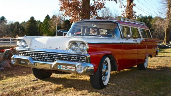 1959 Ford Ranch Wagon: One Or Two Owner?