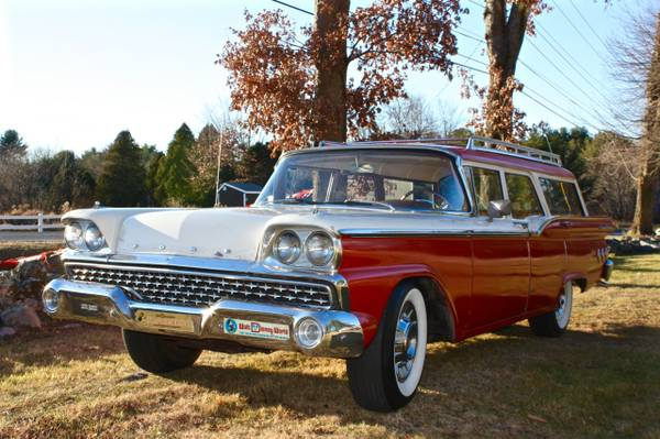 1959 Ford Ranch Wagon One Or Two Owner