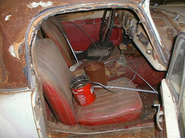 '59 MGA complete int.