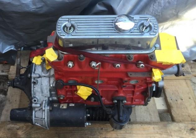 '62 Mini race engine