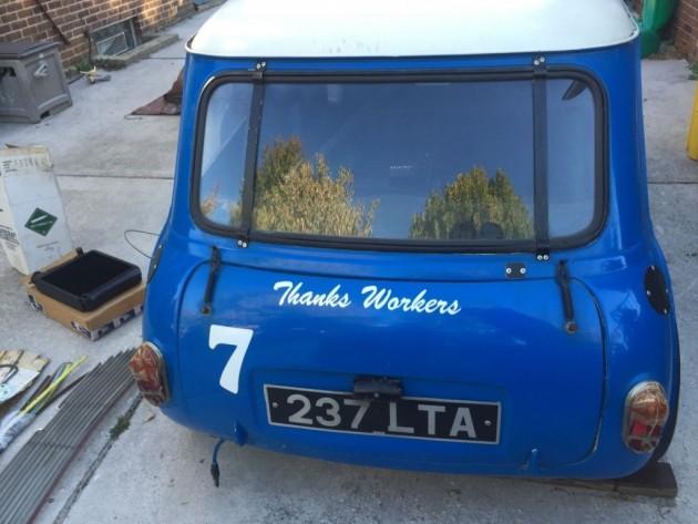 '62 Mini race rear