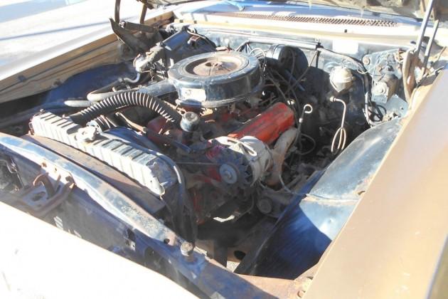 65 Chev Wagon engine