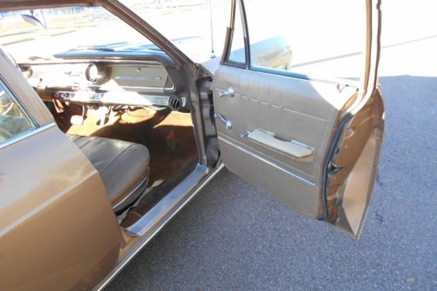 65 Chev Wagon interior 2