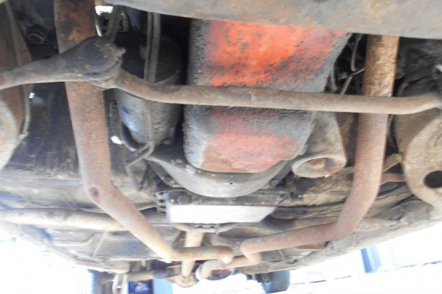 65 Chev wagon under