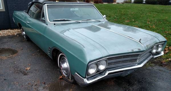 1966 Buick Skylark Convertible: Frameworthy?