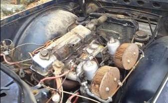 '67 TR4A engine