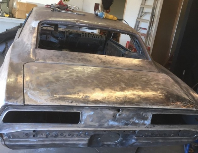 '69 Camaro rear