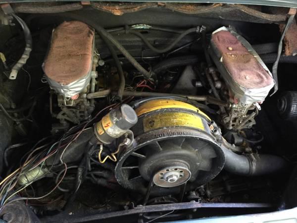 '71 911T engine