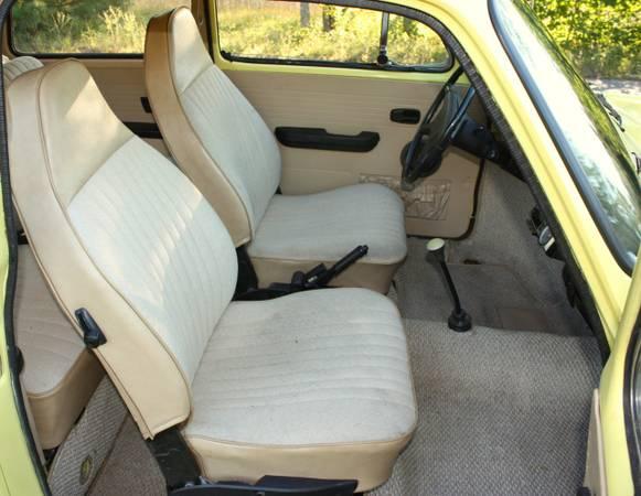 '73 Type 3 seats