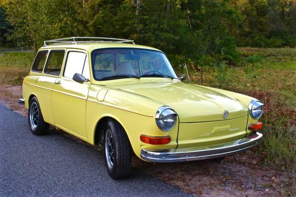 One Clean VW Type-III Squareback!