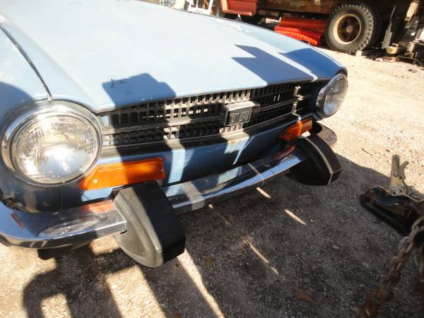 '74 TR6 bumper