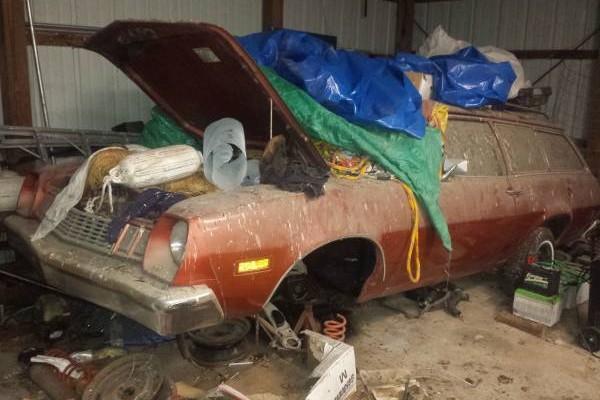 '77 Pinto wagon