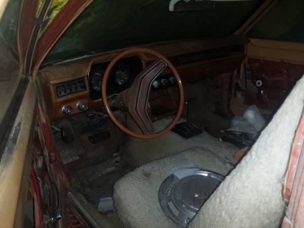 '77 Pinto wagon int