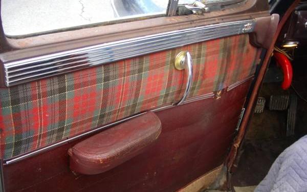 Chrysler driver door