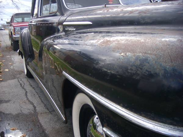 Chrysler front fender