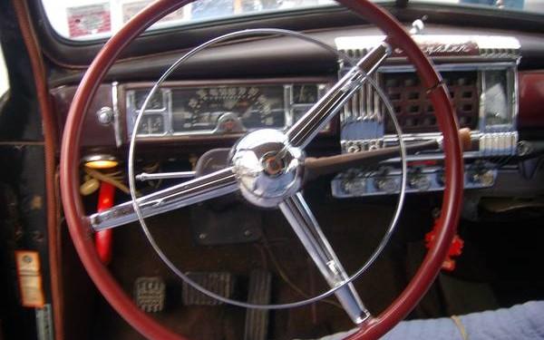 Chrysler steering wheel
