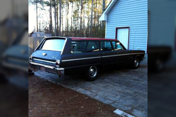 1966 Plymouth Fury Fire Station Wagon
