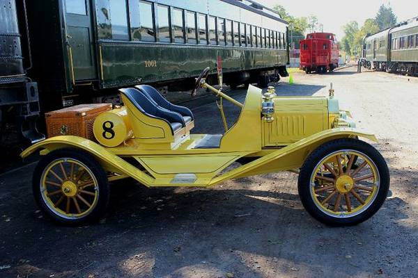 Model T 1914 Side