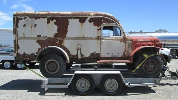 Dodge Power Wagon For Sale >> Honor This Vet: 1951 Dodge Power Wagon Ambulance