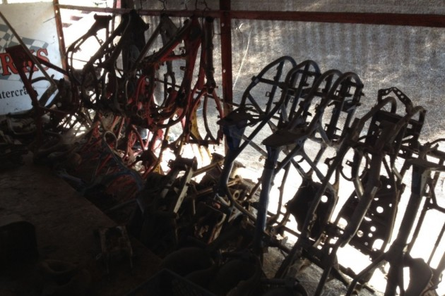 Salvage Yard frames