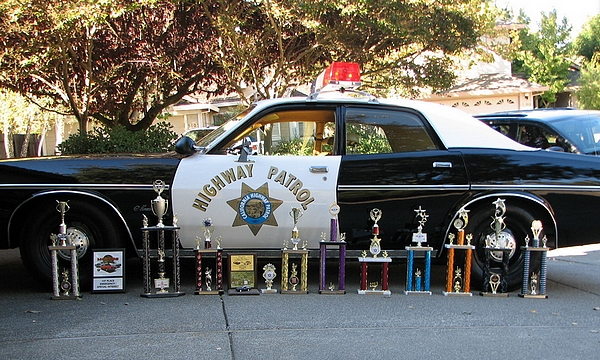 The Cruiser Is Pictured Here With An Array Of Trophies It Has Won At Local Car Shows Er S List Repairs And Restoration Done To This Vehicle