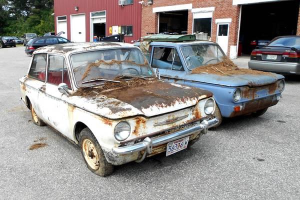 Imperfect Pair: 1968 Sunbeam Imps