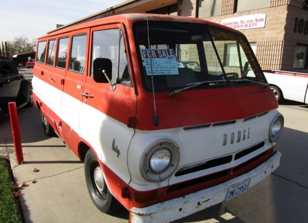 1968 Dodge A100: 20 Years Parked