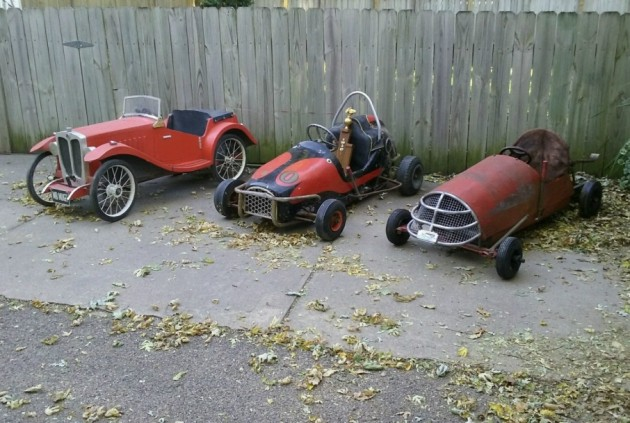 Pedal Cars Barn Finds