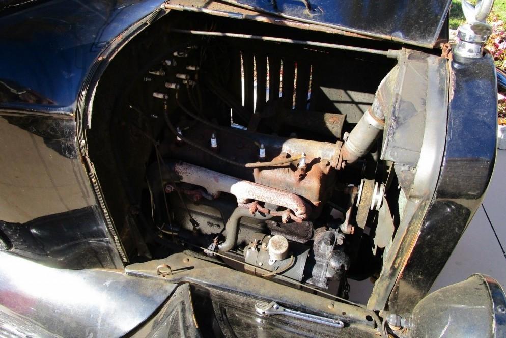 Tin Lizzie: 1924 Ford Model T Carport Find