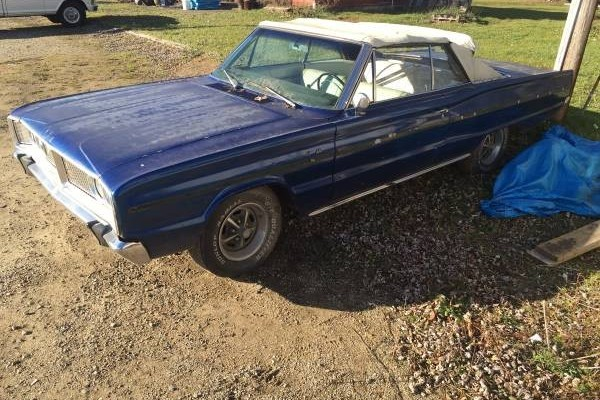 Find With A Secret: 1966 Dodge Coronet Convertible
