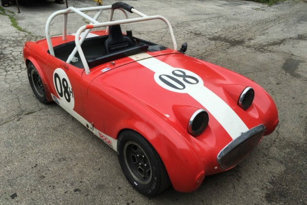 Just Resurrected: 1960 Sprite Race Car