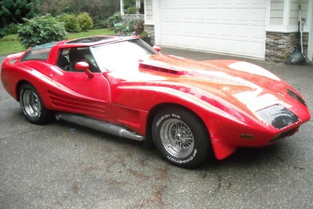 American Shooting Brake Wide Body Corvette Wagon