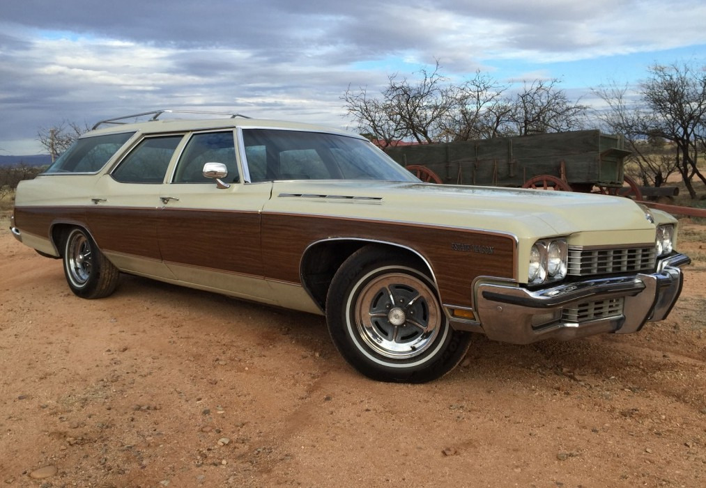 One-Family Hauler: 1972 Buick Estate Wagon