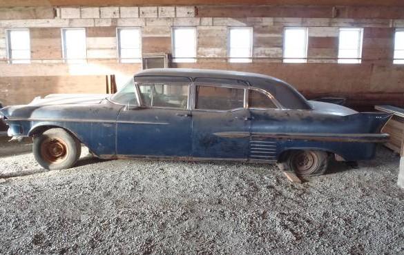 Limousine For Sale >> 1958 Cadillac Limousine: Long Barn