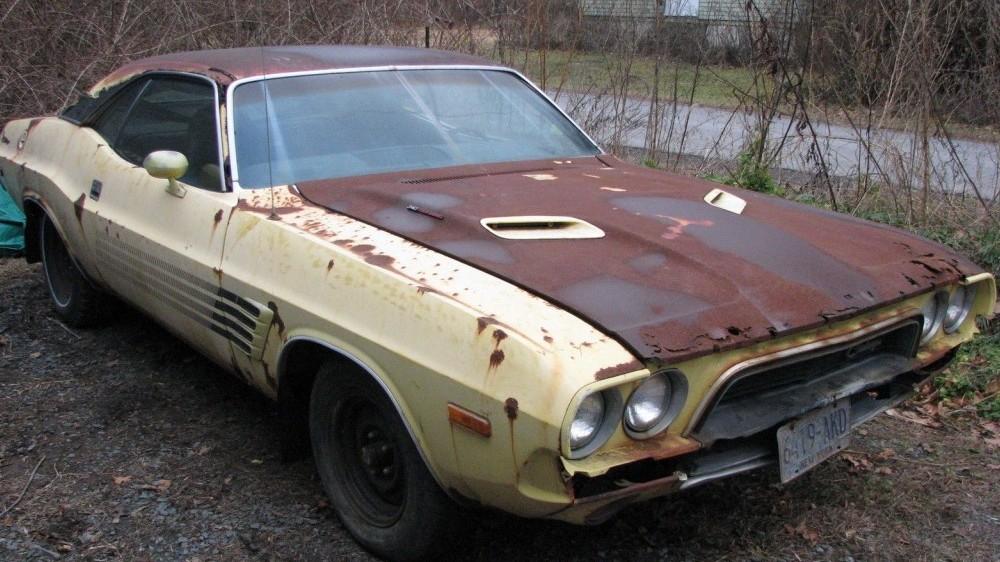 Rotisserie Ready 1972 Dodge Challenger