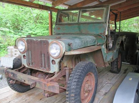 Willys Jeeps For Sale >> 1947 Willys CJ2A: $1695 Project