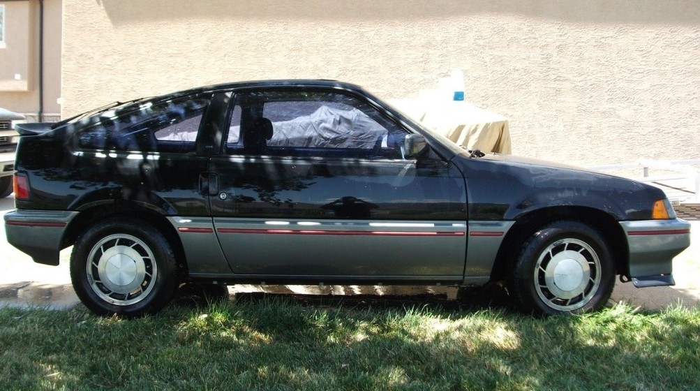 1985 honda crx si here today. Black Bedroom Furniture Sets. Home Design Ideas