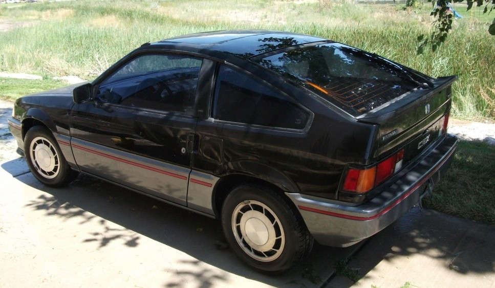 1985 Honda Crx Si Here Today
