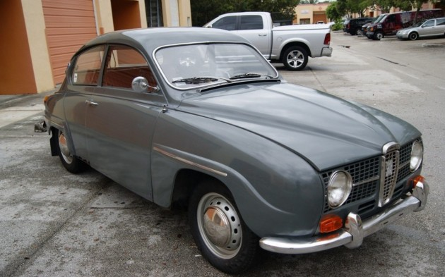 Two-Stroke And No Reserve: 1968 Saab 96