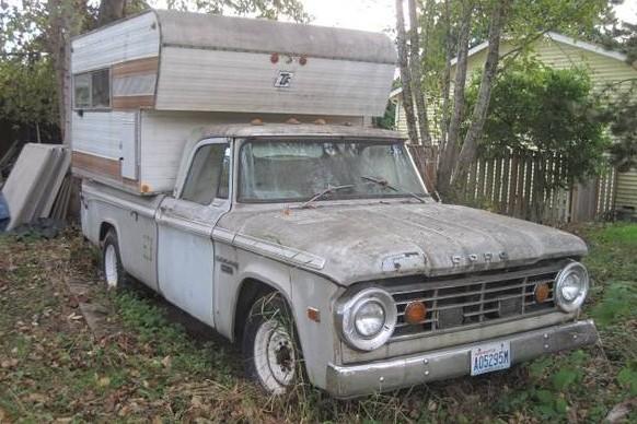 1967 Dodge D200: Camper Special