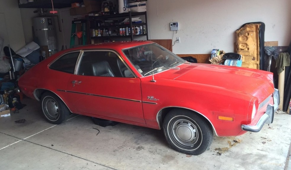 Used Car Auctions >> One Family Owned: 1971 Ford Pinto