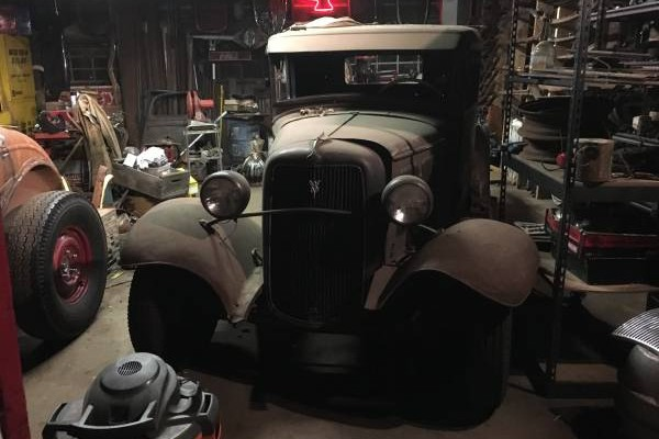 Hot Rod Project 1934 Ford Pickup