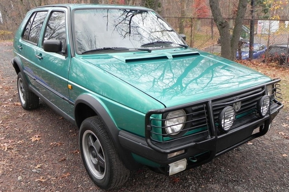 Surf Green Syncro: VW Golf Country