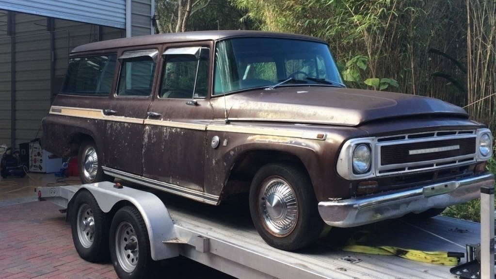 Car Shows In Florida >> Brown Workhorse: 1969 International Harvester TravelAll